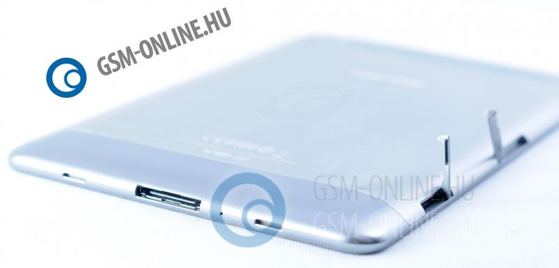 Samsung Galaxy Tab 7.7 kártyanyílások