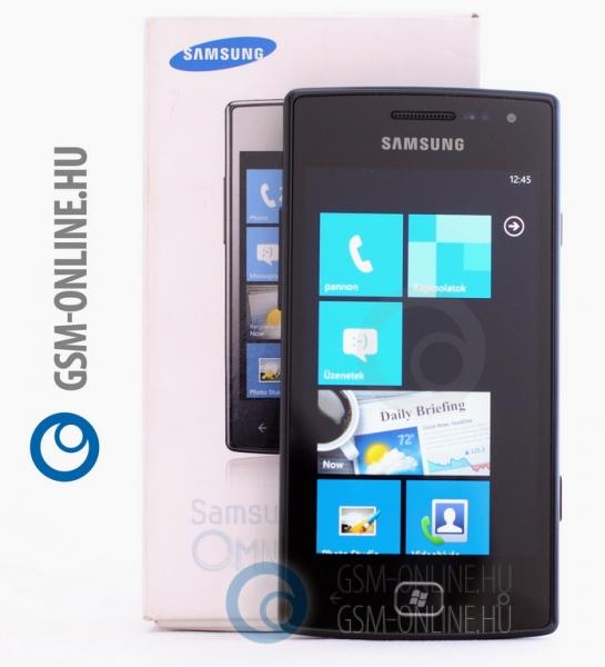 Samsung Omnia W wondows phone 7
