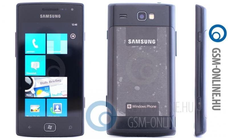 Samsung Omnia W külső